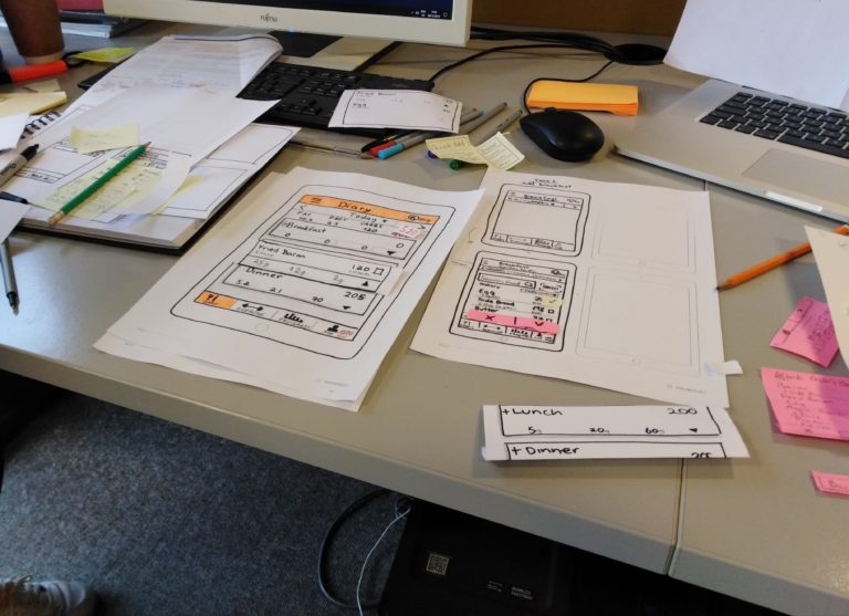 03 – Designing Improvements, Usability Tests on Paper Prototype